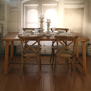 Rustic Teak Dining Tables - 'Cobble Hill Collection'