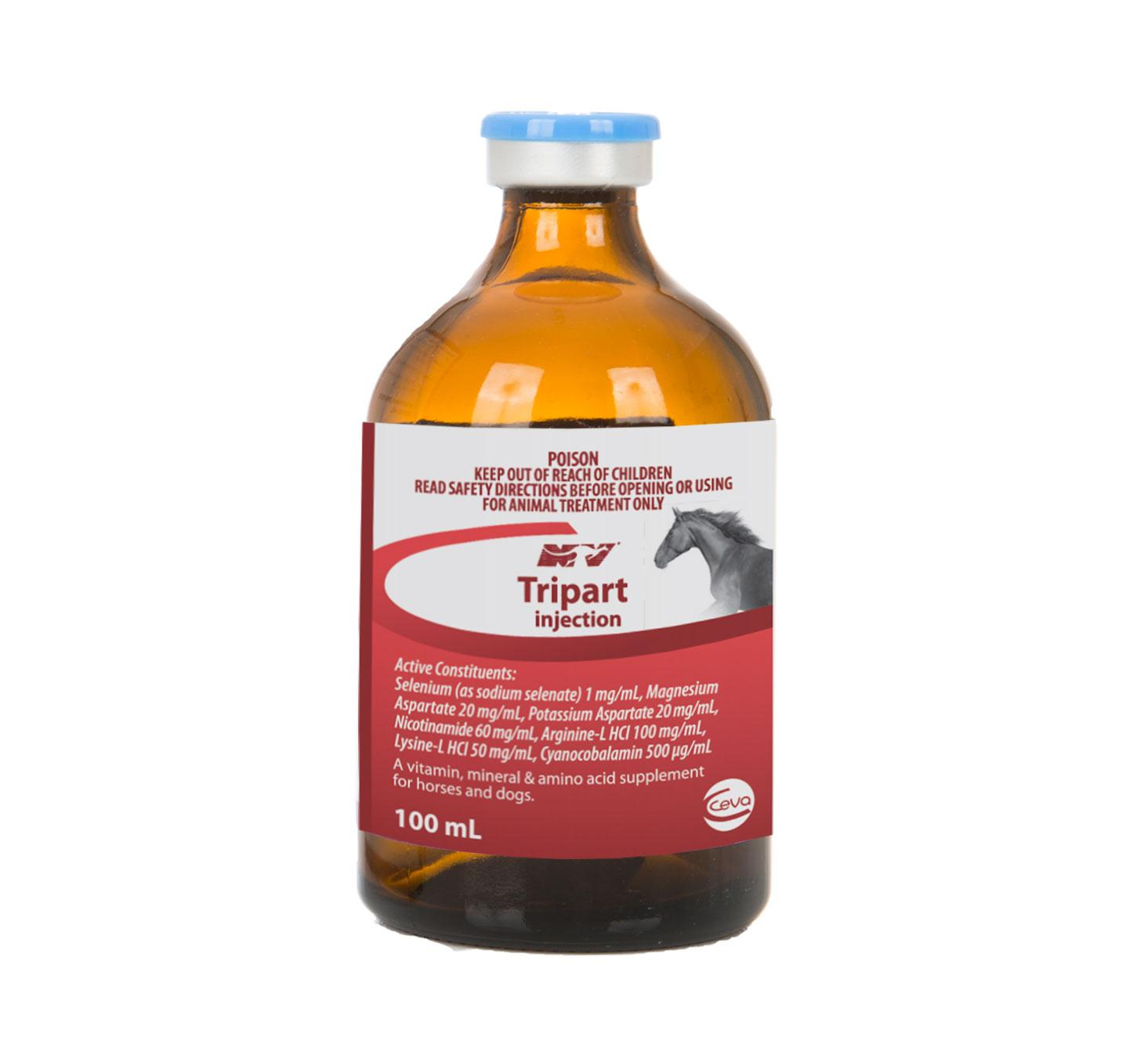 Tripart Injection 100ml Ceva Horse Supplies Equine