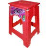 Lightweight Ready to Use Foldable Stool - Red - 46Cm Height - [AF-8697584340152]