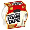 151 Adhesives - Double Sided Foam Tape - 18mm x 2.6m - Pack of 3 Rolls - [AF-5050375001916]