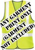 Economy EasyPrint™ - FRONT PRINT - Print on any Hi Vis garment - Minimum of 12 Prints - Garment Not Included - [IH-EPFP]