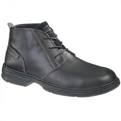 S1 - SRA - END OF LINE - Caterpillar Forum Black Safety Boot - Conforms to BS EN ISO 20345 S1 SRA - Steel Toe Caps - Pair - WO-P713841