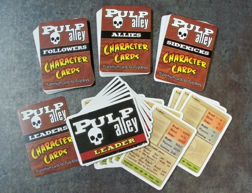 Pulp Alley Character Card pre-order and the Resistance Sale continues!