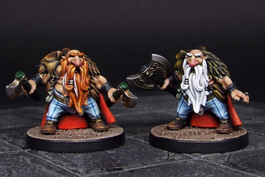 Birsi Rising - Dwarf Berserker Released!