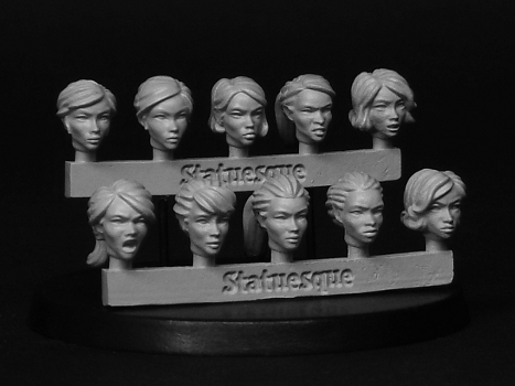 Various items now restocked - including Heroic Scale Female Heads!