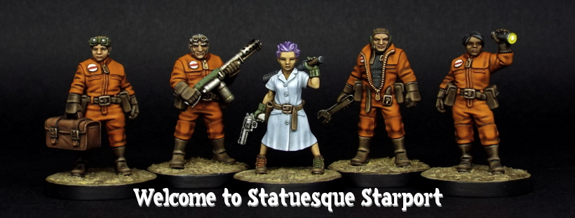 Up to 20% OFF the Statuesque Starport and Statuesque Asylum ranges!