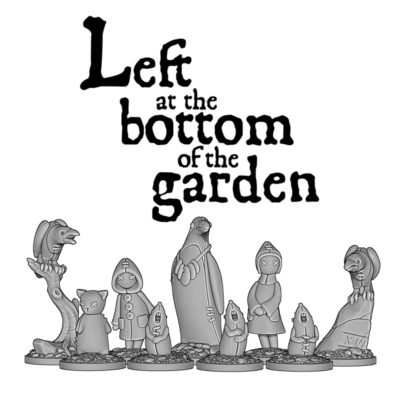 Preview: Left at the Bottom of the Garden