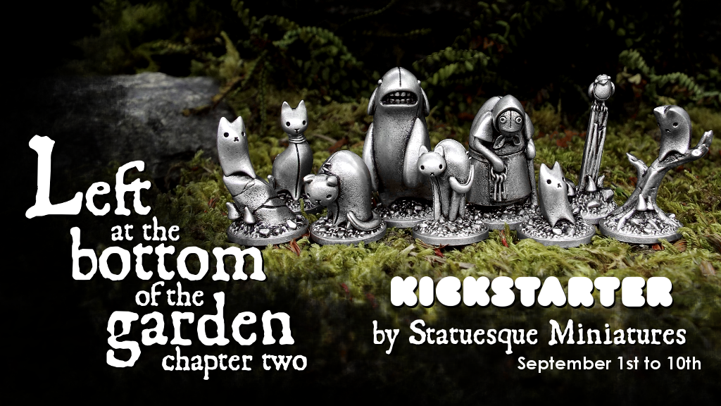 Left at the Bottom of the Garden Chapter Two Kickstarter launches September 1st!