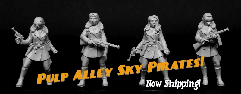 Pulp Alley Sky Pirates now shipping!