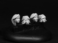 SMA008 Resistance Fighters- Beret Heads