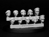 SMA204 Pulp Scale Female Heads - Veterans
