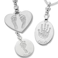 3cm DOUBLE Sided, Sterling Silver, 2 Hands or 2 Feet