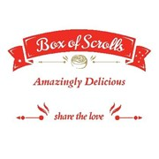 12 SMALL - VARIETY SCROLLS BOX (3 Nutella Banana, 3 Cookies & Cream, 3 Apple Cinnamon, 3 Salted Caramel)