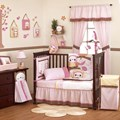 Kidsline In The Woods 6 Piece Cot Set