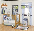 Kidsline Come Fly With Me 6 Piece Cot Set