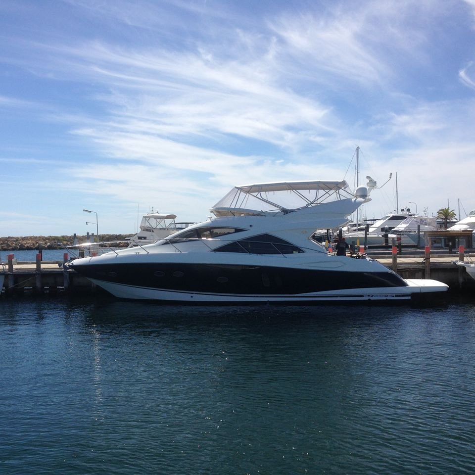 All finished and ready for play. Sunseeker 50 Manhatten