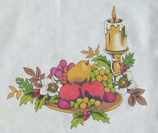 Festive Fruit Placemat