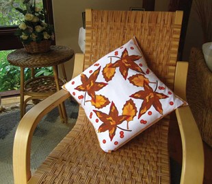 Autumn Leaves Cushion Covers x 2