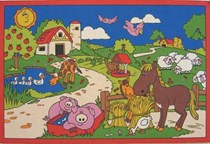 Farmyard Fun Poster