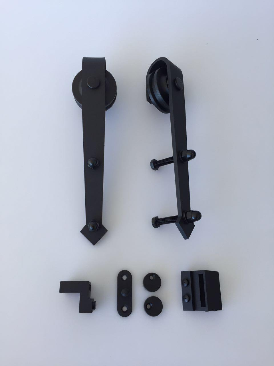 Sliding barn door rollers kits b06 ideal barn door australia for Barn door rollers only
