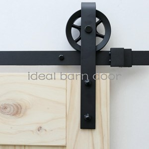 2.4M Side Mount Sliding Barn Door hardware  B09