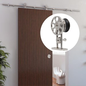 3.6M Top mounted Sliding Barn Door Hardware S05