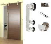 2M Side mounted Barn Door Hardware S02