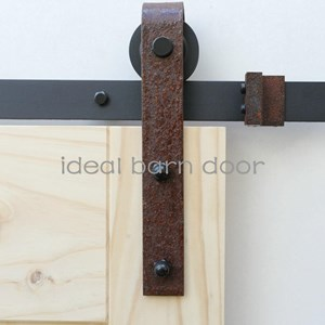 Weathered Rust 3M  Barn Door hardware B02WR