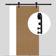 4M Sliding Barn Door hardware B11