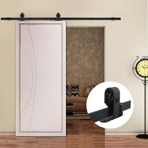 4M Top Mounted Barn Door hardware B01
