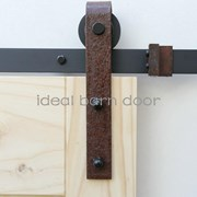 Weathered Rust 1.6M  Barn Door hardware B02WR