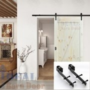 1.8M Side Mount Sliding Barn Door hardware B02