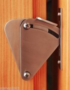 TEARDROP PRIVACY LOCK FOR SLIDING DOORS