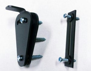 TEARDROP PRIVACY LOCK FOR SLIDING DOORS (Black)