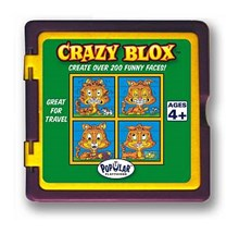 Crazy Blox Travel Puzzle - Cat