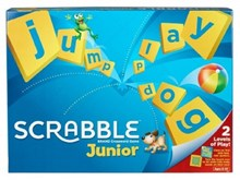 Scrabble Junior Cross Word Board Game