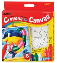 Amos Crayons For Canvas - Dolphin