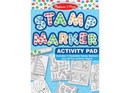Melissa & Doug - Stamp Marker Activity Pad - Blue