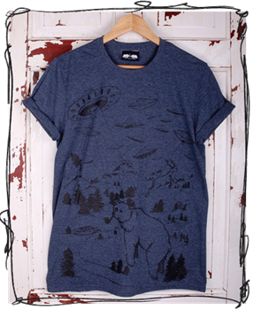 Abduction: Heather Navy T-Shirt