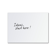 1500mm x 900mm Edge Porcelain Whiteboard
