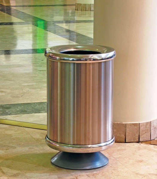 LSM480 Pedestal Solid SS and PCT Bins