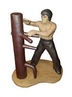 Special Wooden Dummy Figurine and FREE Book Offer