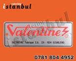VALENTINE FRYER SIGN RED VALENTINE SIGN VALENTINE FRYER PARTS