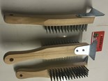 3 X CHARCOAL GRILL BRUSHES ARCHWAY CHARCOAL GRILL BRUSHES ORIGINAL