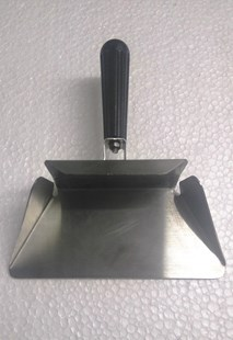 Heavy Duty Stainless Steel Catering Chip French Fry Bagger Scoop With Handle