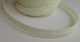 Cream lace bias binding (double fold) PRICED PER METRE