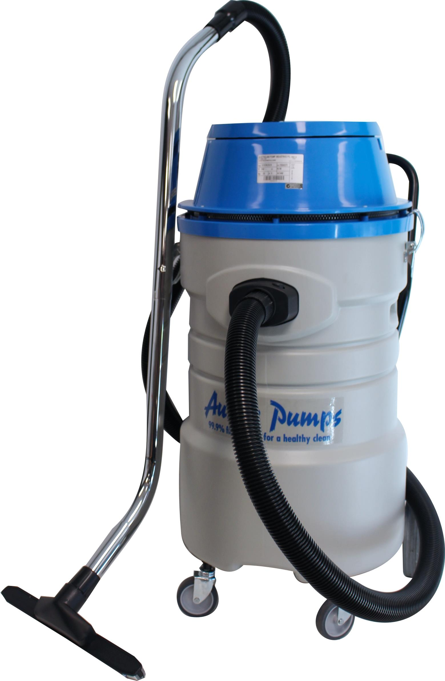 Aussie Pumps VC72MX Wet Industrial Vacuum Cleaner With Pump