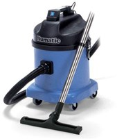 NUMATIC WVD570 A HEAVY DUTY DUAL MOTOR 2400WATT WITH 80 LITRES PER SECOND AIRFLOW WET AND DRY (23L DRY, 15L WET) MEDIUM SIZE COMMERCIAL VACUUM CLEANER UTILISING STRUCTOFOAM CONSTRUCTION.