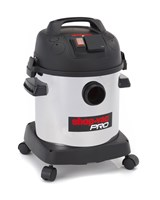 SHOP VAC SHOPVAC PRO20 9271551 1400WATT 20L HEPA FILTER WET & DRY STAINLESS STEEL COMMERCIAL VACUUM CLEANER WITH POWERTOOL ADAPTER FOR CLEAN DRILLING & SANDING use for Plaster Concrete Building dust