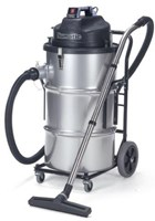 NUMATIC NTD2003 80 LITRE STAINLESS STEEL HEAVY DUTY TWO MOTOR COMMERCIAL VACUUM CLEANER WITH SHAKEABLE FILTER SYSTEM. MADE IN ENGLAND. GREAT FOR HEAVY DUTY TASKS SUCH AS  CLEANING BUILDERS RUBBLE, A CHICKEN HOUSE OR A TEXT MILL